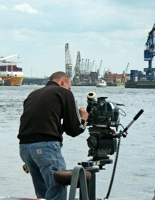 Kameramann Leipzig Marcel Richter im Einsatz